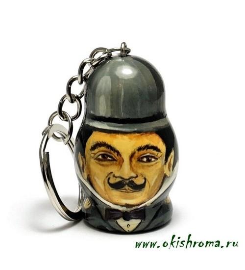 Keychain «Poirot»