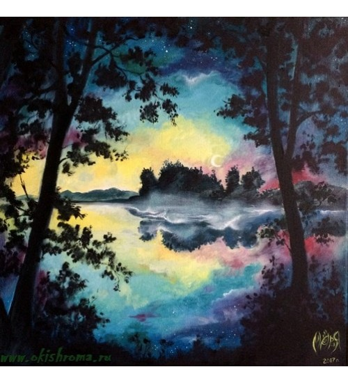Painting «Lake Veljo»
